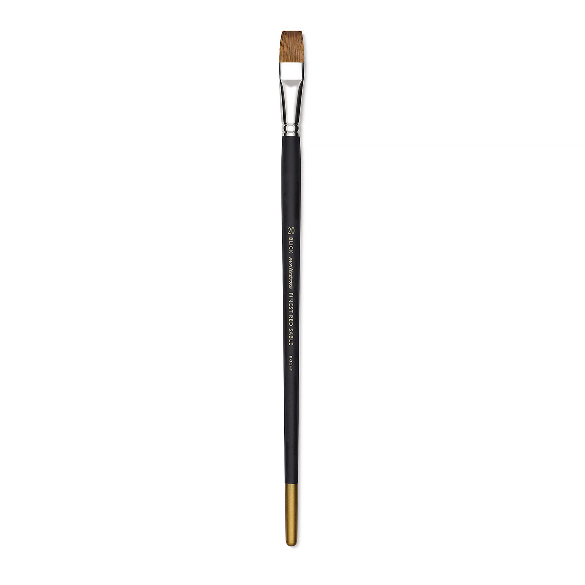 Blick Masterstroke Finest Red Sable Brush - Bright, Size 20, Long Handle