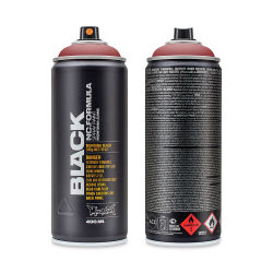 Montana Black Spray Paint - Rust, 400 ml can