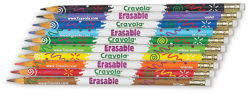 Erasable Colored Pencils, Set of 10