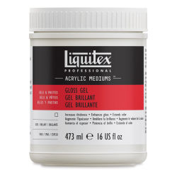 Liquitex Medium - Gel Medium, Gloss, 16 oz jar