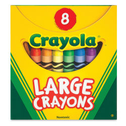 Crayola Large Crayon Set - Set of 8