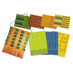 Roylco Kente Card Wall Hanging