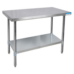 Diversified Woodcrafts Stainless Steel Table - 48'' Wide, 30'' Deep, 35'' High
