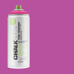 Montana Chalk Spray Paint - 400 ml, Pink (Spray can with swatch)