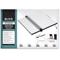 Blick Portable Tabletop Drafting Board with Parallel Ruler Straight Edge - 24'' x 36''