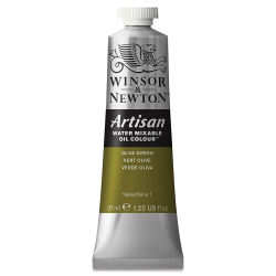 Winsor & Newton Artisan Water Mixable Oil Color - Olive Green, 37 ml tube