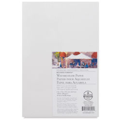 Bee Paper Aquabee Watercolor Paper - 6'' x 9'', 140 lb, 50 Sheets