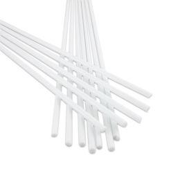Glass Replacement Rods - Pkg of 12, White