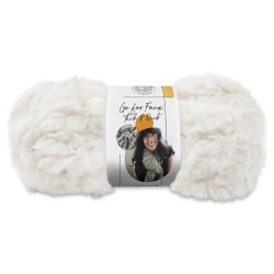 Lion Brand Go For Faux Thick And Quick Yarn - Baked Alaska, 24 yds