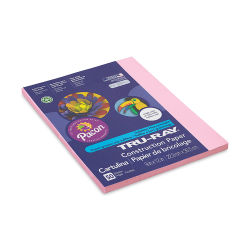 Pacon Tru-Ray Construction Paper - 9'' x 12'', Pink, 50 Sheets