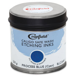 Caligo Safe Wash Etching Ink - Process Blue (Cyan), 250 g Can
