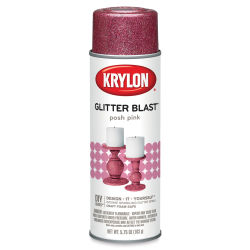 Krylon Glitter Blast Spray Paint - Posh Pink, 5.75 oz can