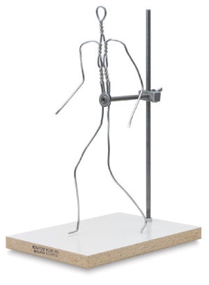 Wire Figurine Armature with Support
