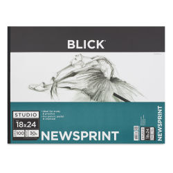 Blick Studio Newsprint Pad - 18'' x 24'', 100 Sheets