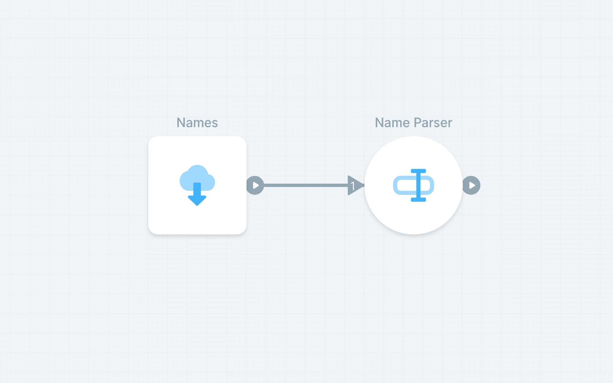 Separating name fields
