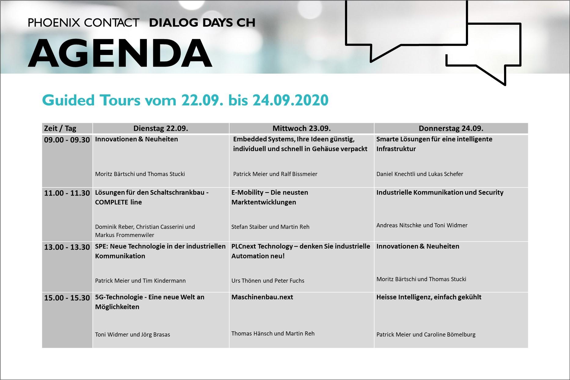 Dialog Days Schweiz
