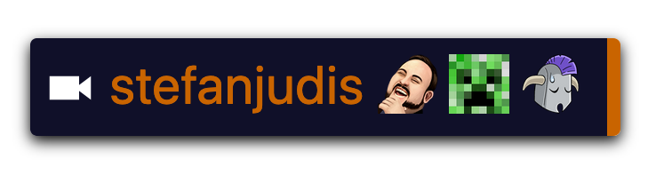 """Rendered Twitch message for """"LUL SSSsss SirSad"""""""