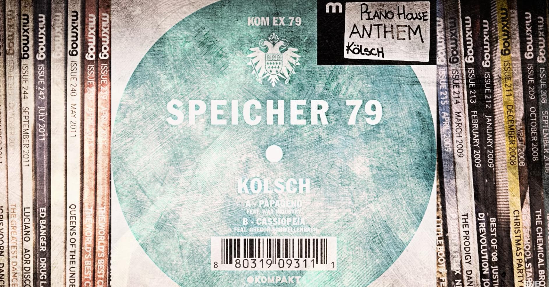 """Record cover of """"KÖLSCH - Cassiopeia"""""""