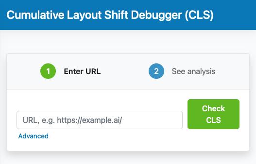 Cumulative Layout Shift Debugger