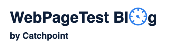 WebPageTest Blog by Catchpoint