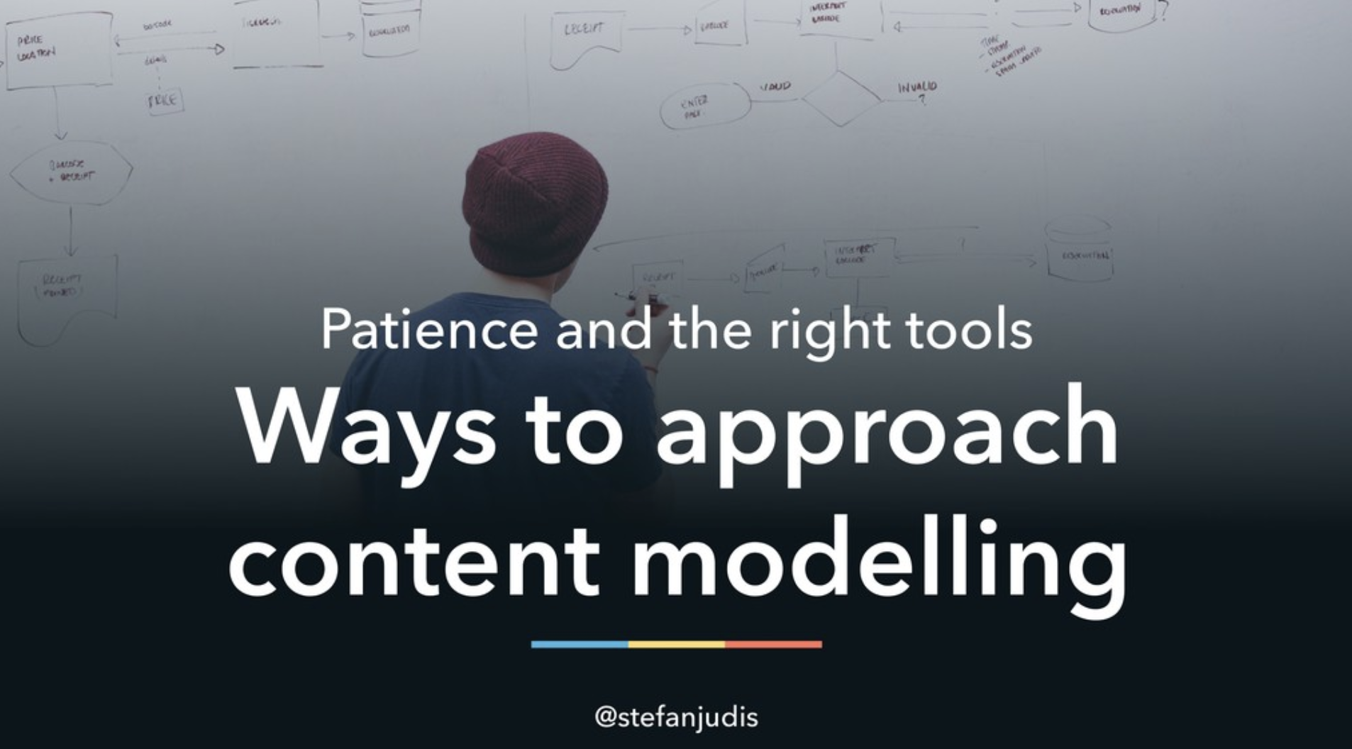 Patience and the right tools – ways to approach content modelling