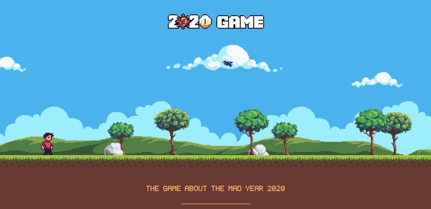 Splash screen 2020 game