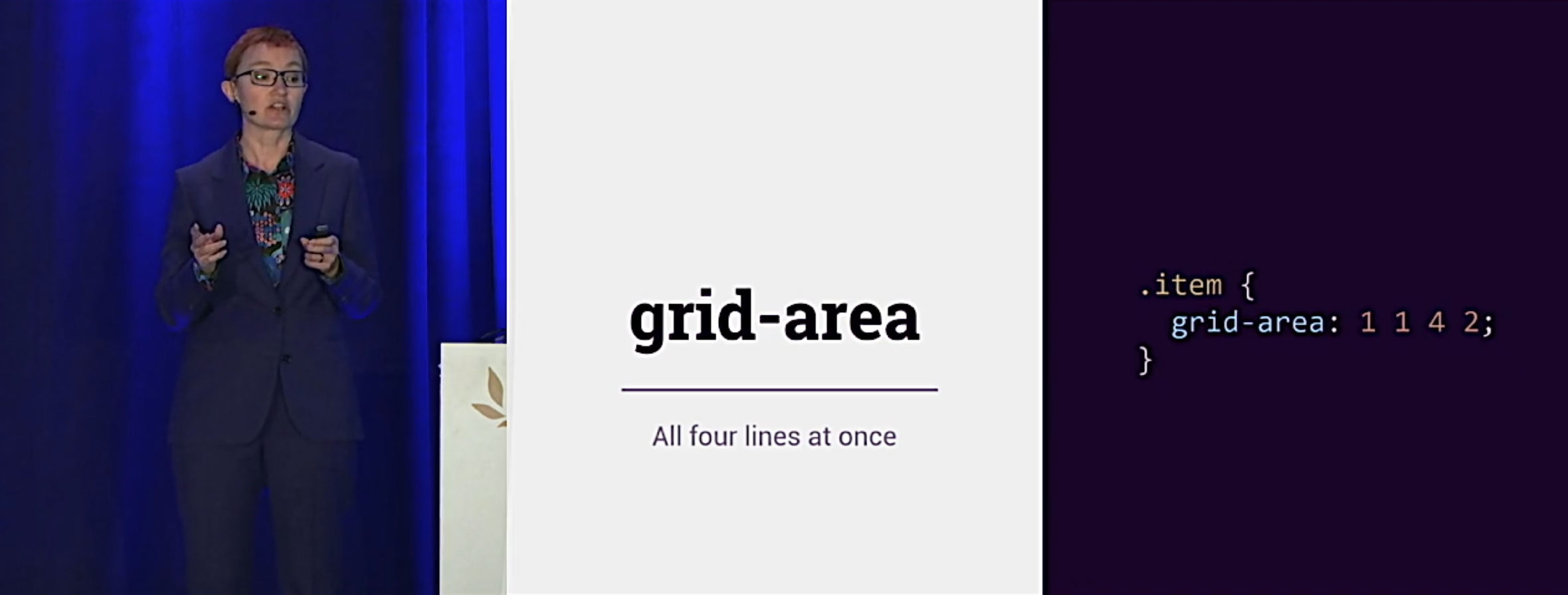 """Rachel Andrew's talk """"Making Things Better: Redefining the Technical Possibilities of CSS"""""""