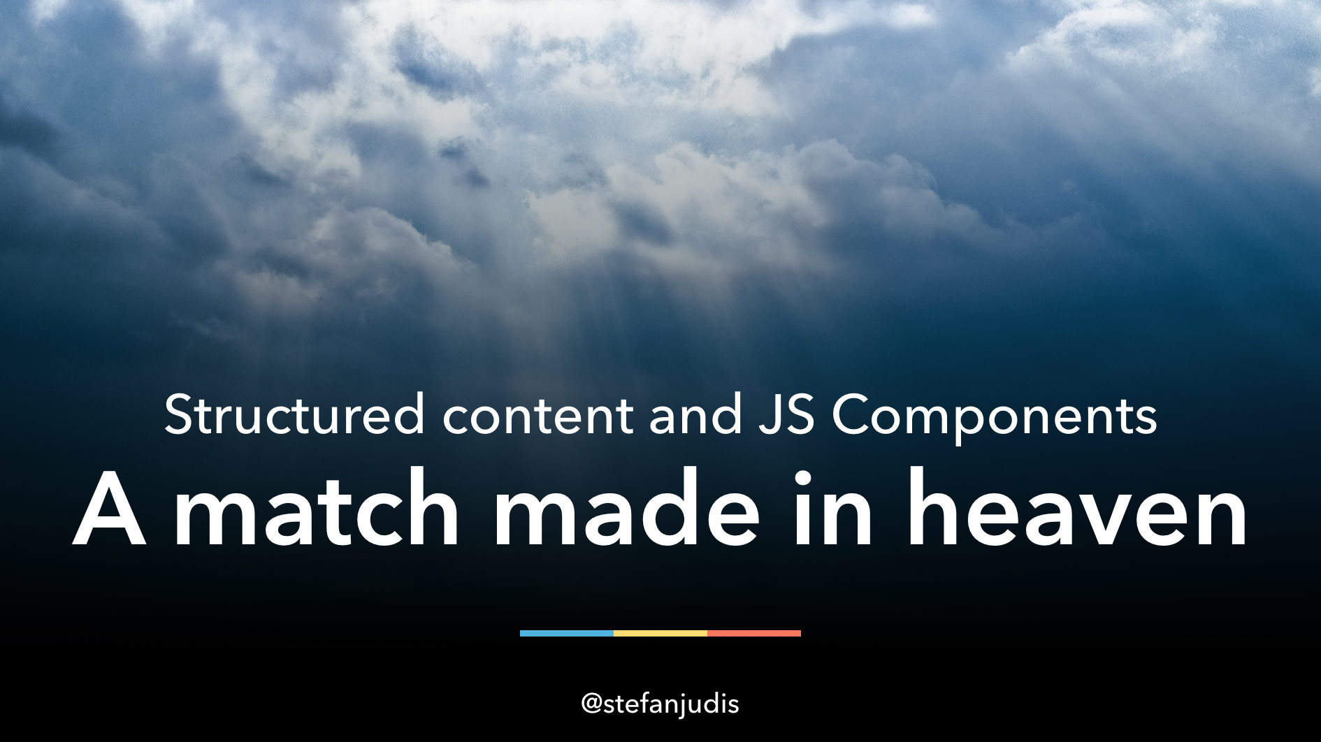 Structured content & JS Components – a match made in heaven