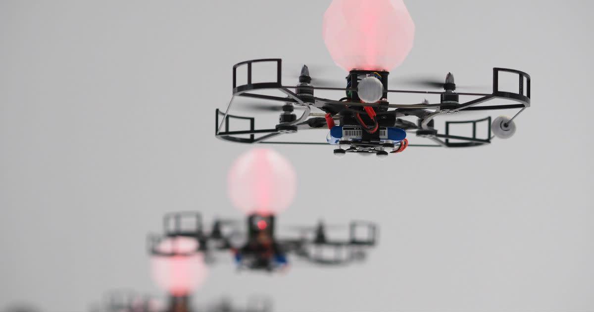 MagicLab + Rhizomatiks Research - 24 Drone Flight
