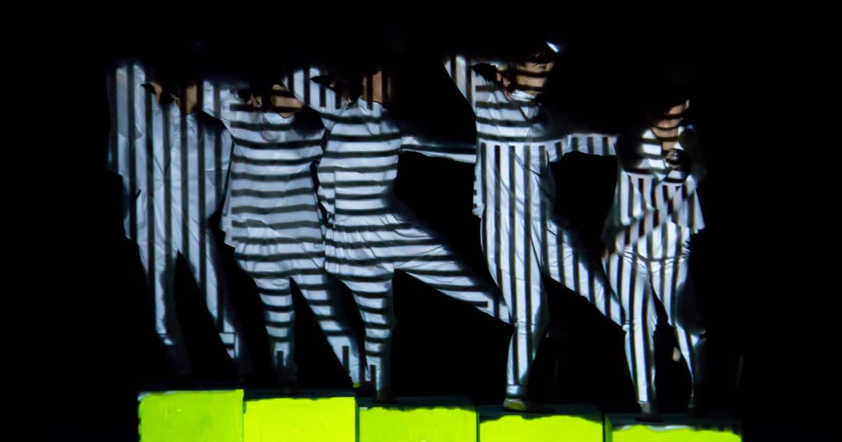 Elevenplay x Rhizomatiks Research - cube (for SonarSound Tokyo Festival 2013)