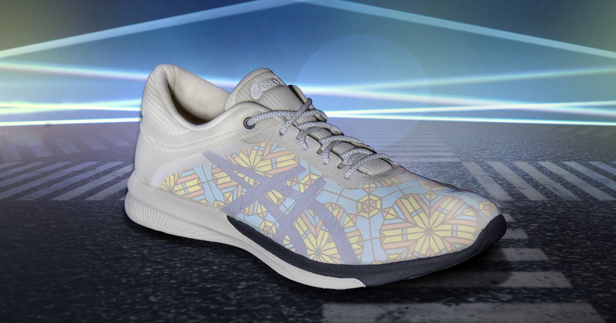 """KALEIDOSCOPE COLLECTION"" by collaboration of ASICS x ANREALAGE"