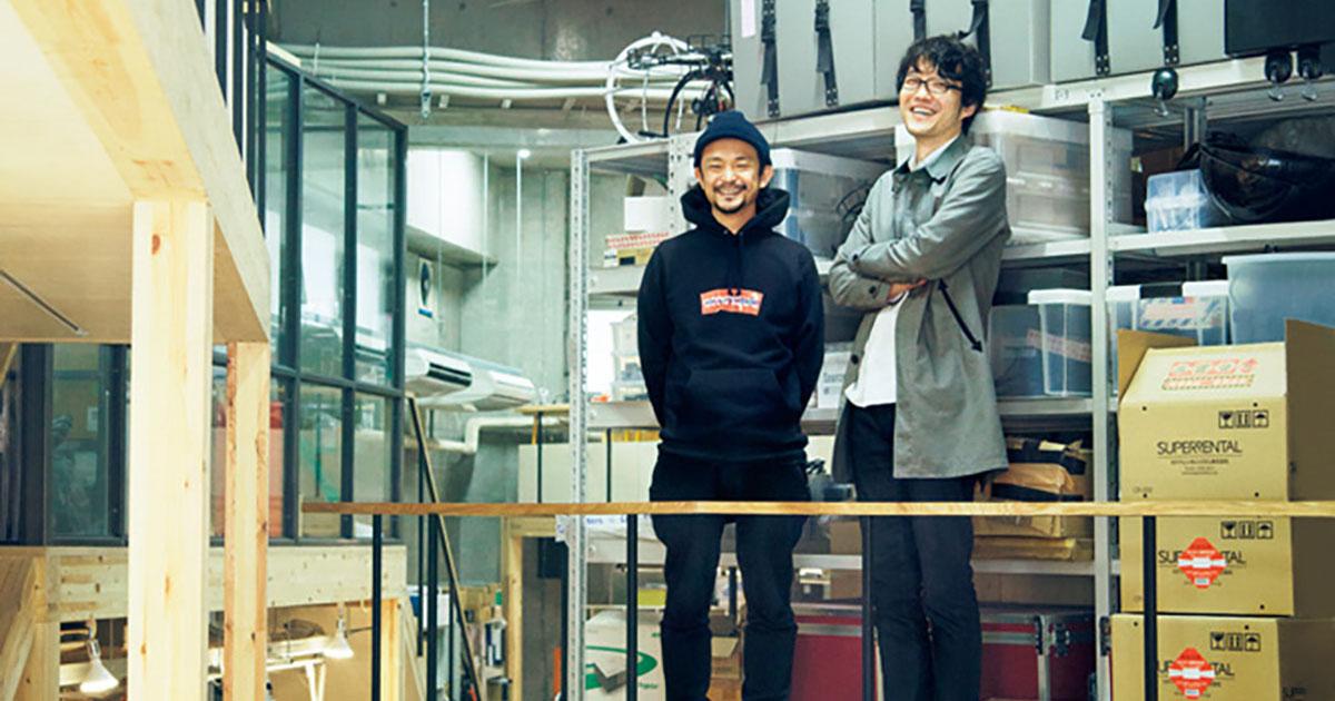 Casa Brutus - Switch of inspiration with nendo Saito Ooki