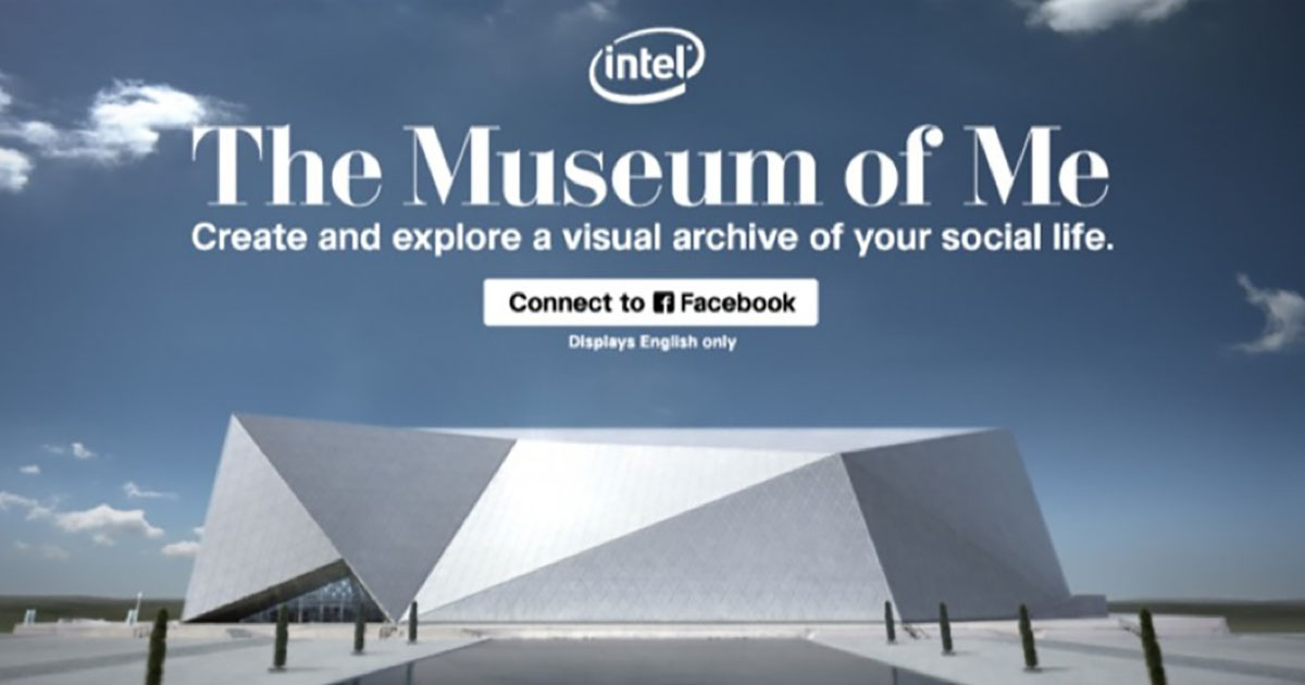 Intel - Intel® The Museum of Me