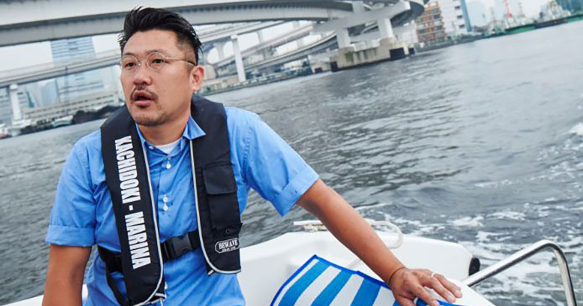 WIRED.jp featured ,Searching for non-existent places on the map - Looking at Tokyo's waterside with Saito Seiichi.