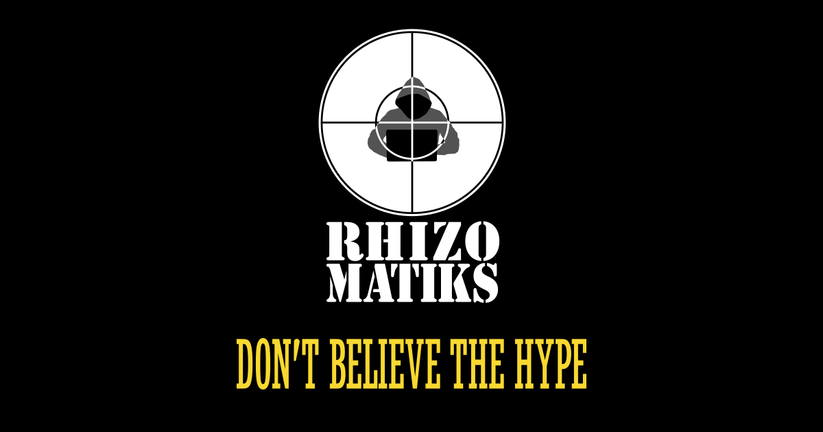 RHIZOMATIKS - DON'T BELIEVE THE HYPE YEAR END PARTY 2017