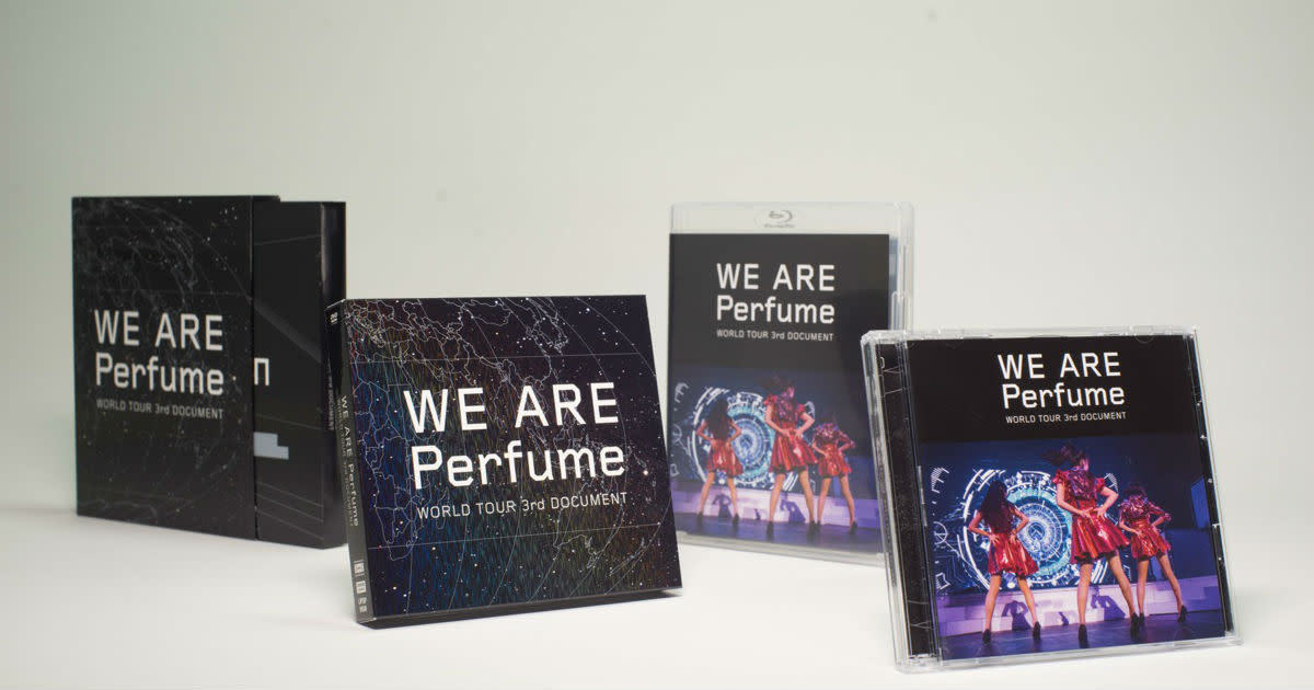 Perfume - WE ARE Perfume -WORLD TOUR 3rd DOCUMENT-Blu-ray, DVD Package design