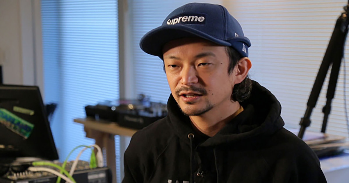 "Daito Manabe has appeared on NHK WORLD's program ""Direct Talk""."