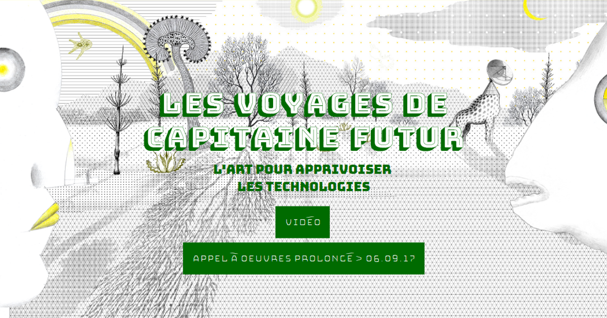 "Media art work Competition project ""Les Voyages de Capitaine futur"" judges 