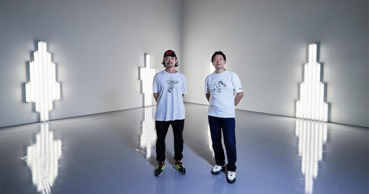 BIJUTSU TECHO - Daito Manabe was talking with Kazunao Abe about Dan Flavin.