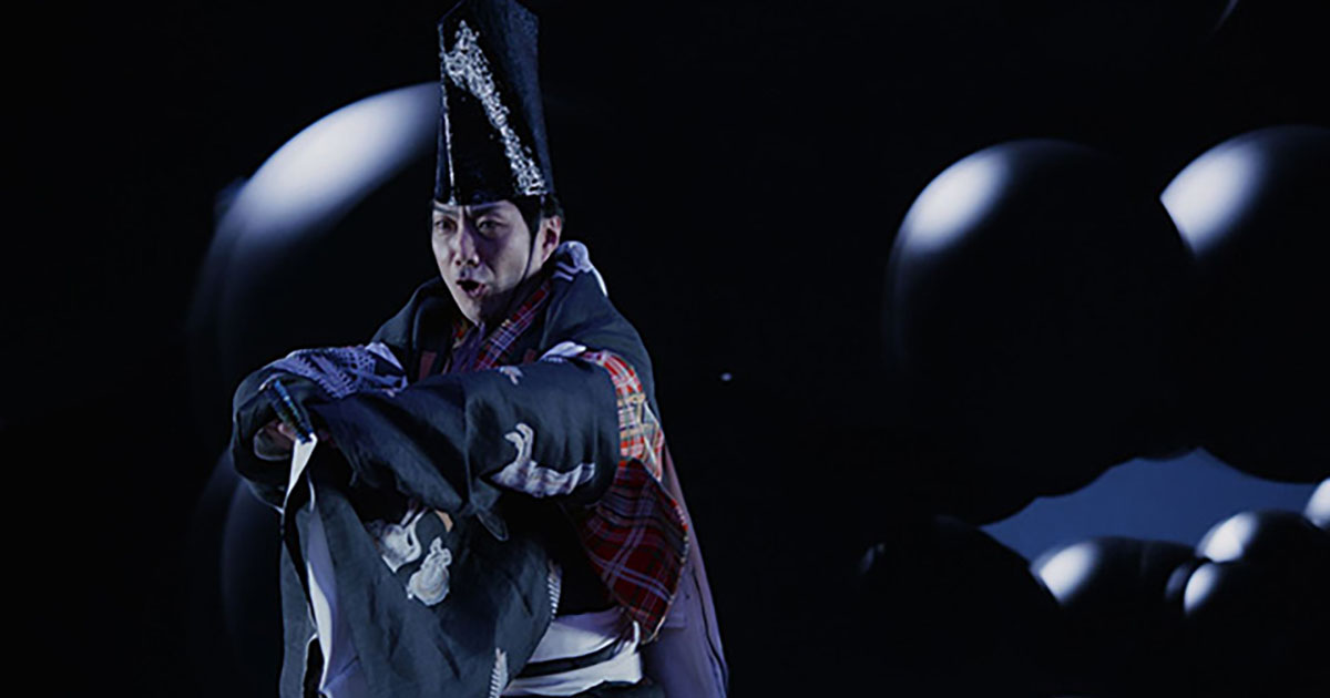 The challenge of Daito Manabe and Kyogen performer Mansai Nomura documentary will be reaired
