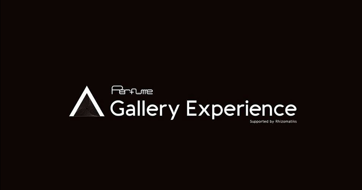 Perfume: A Gallery Experience Supported by Rhizomatiks