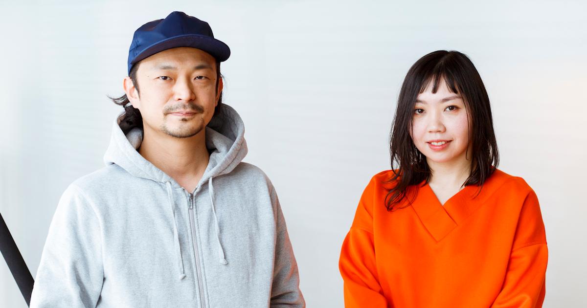 Daito Manabe and AKIKO KIYAMA had a dialogue.