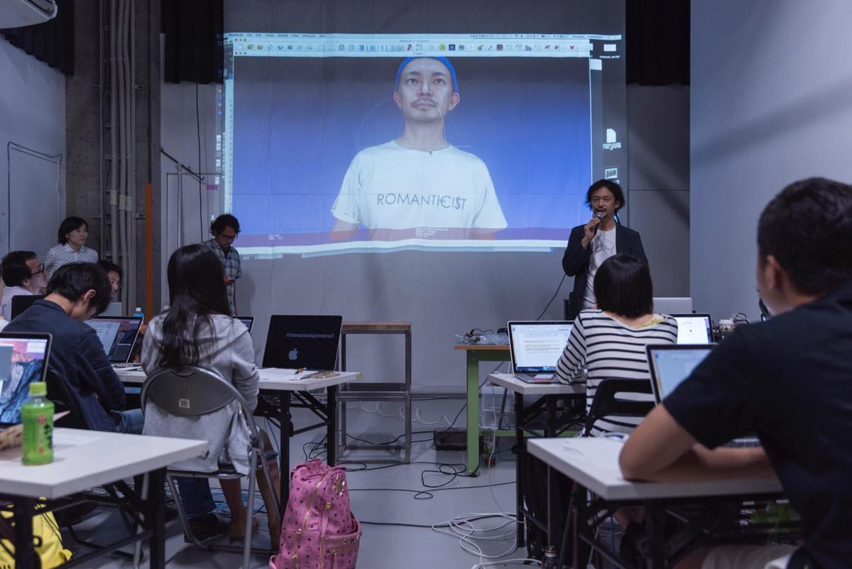 Rhizomatiks Research + MIKIKO - summer workshop 2015