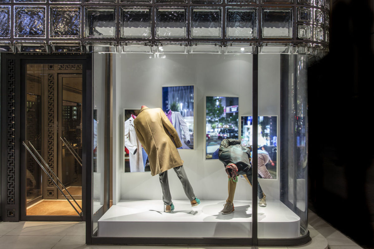 Hermès - Show window for Maison Hermes in Ginza