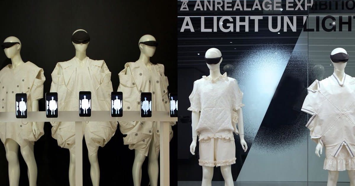 "At the Japan House opened in Los Angeles, ANREALAGE exhibition ""A LIGHT UN LIGHT"" is being held."