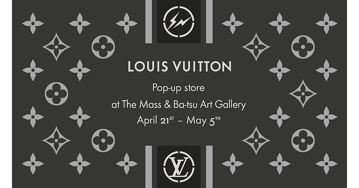 LOUIS VUITTON in collaboration with FRAGMENT DESIGN POP-UP STORE