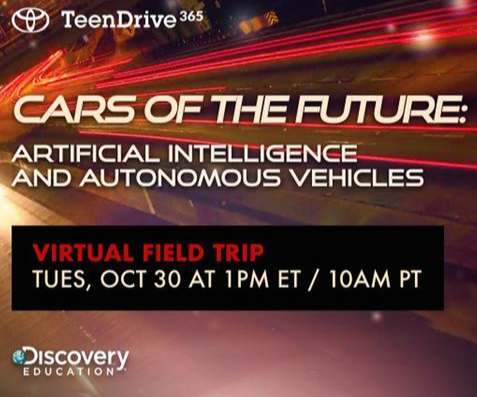 Students Invited to Virtual Field Trip at Toyota Research Institute