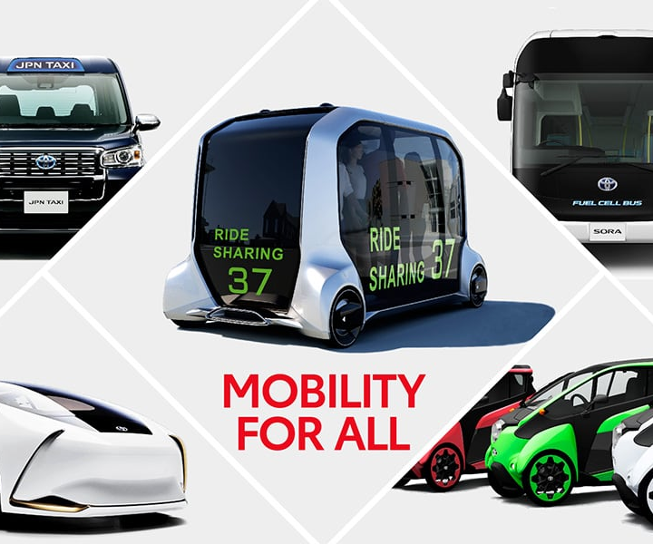 Toyota to Bring Various Mobility to the Olympic and Paralympic Games Tokyo 2020