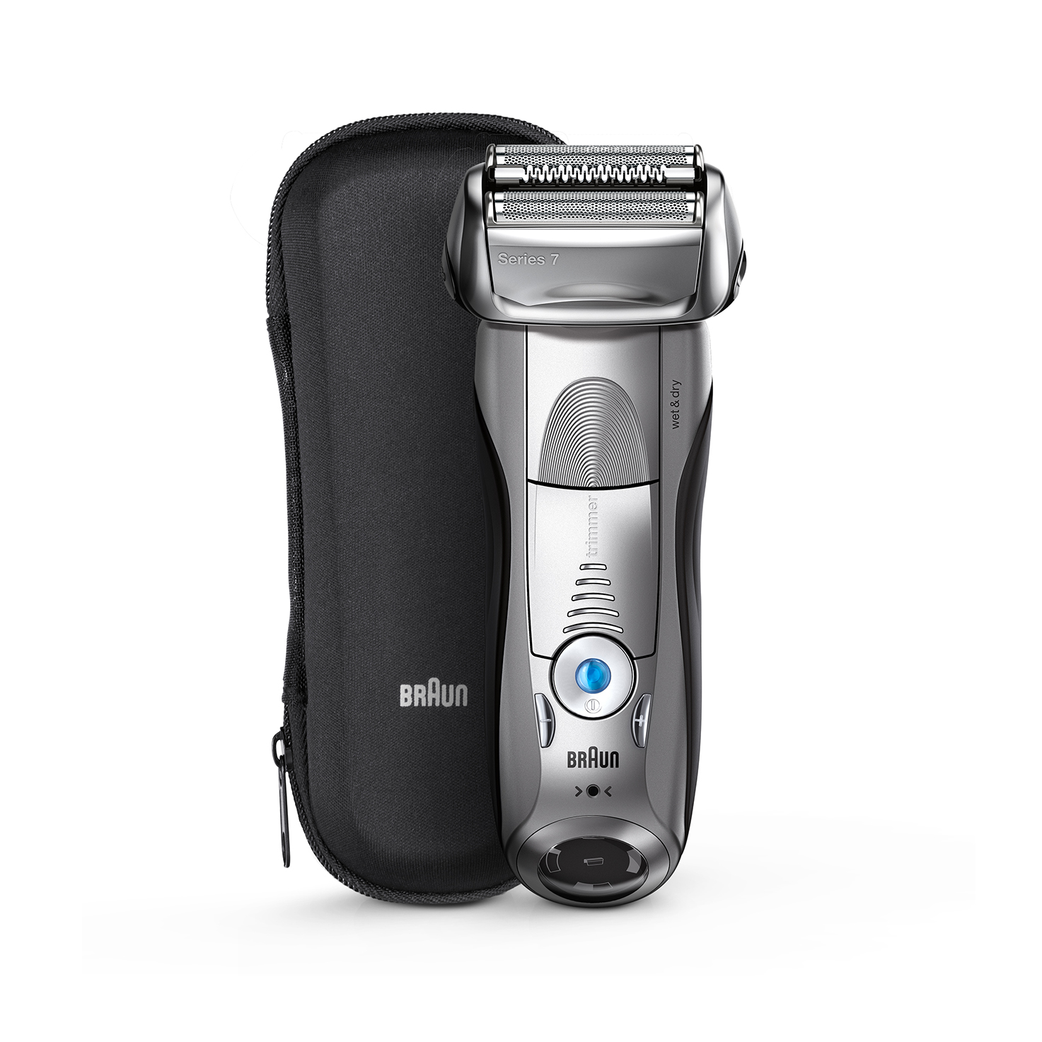 Series 7 Silver With Travel Case