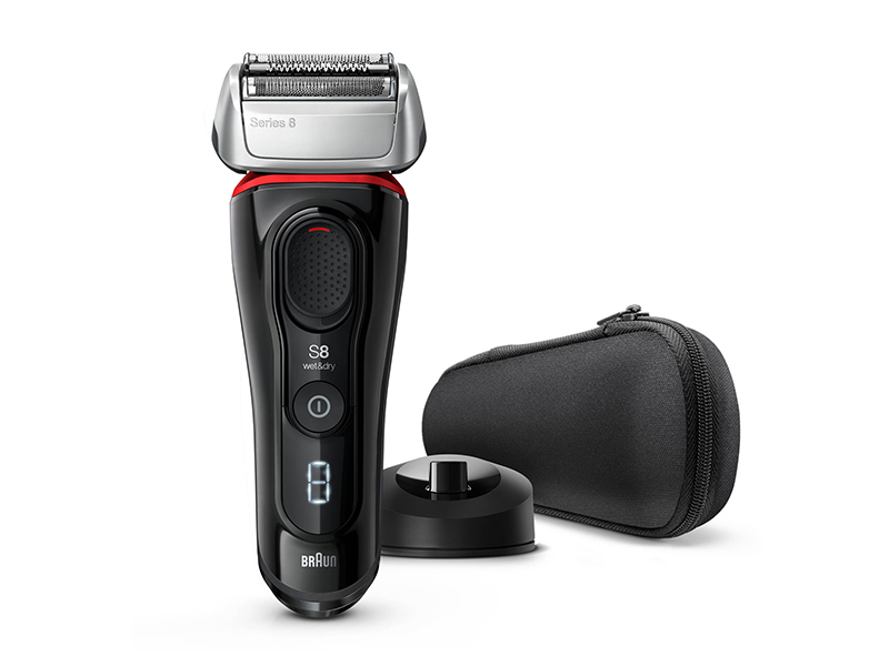 Series 8 8340s Wet & Dry shaver with charging stand and travel case